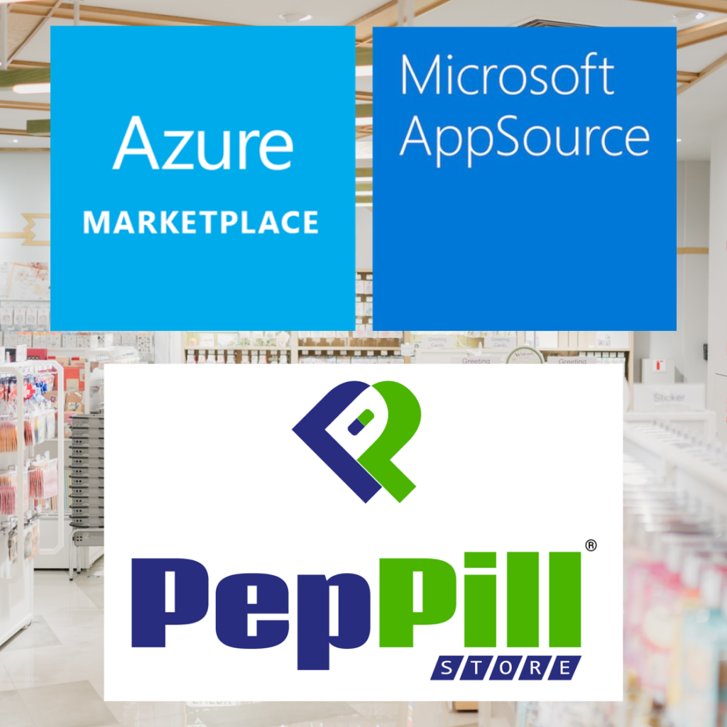 PepPill Store now LIVE on Azure Marketplace & AppSource